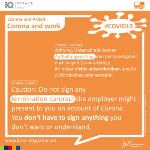 Corona Auf Englisch